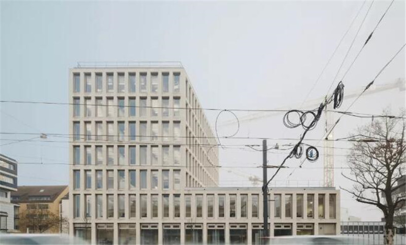 Modern and simple office building – German-Ulm Civic Center