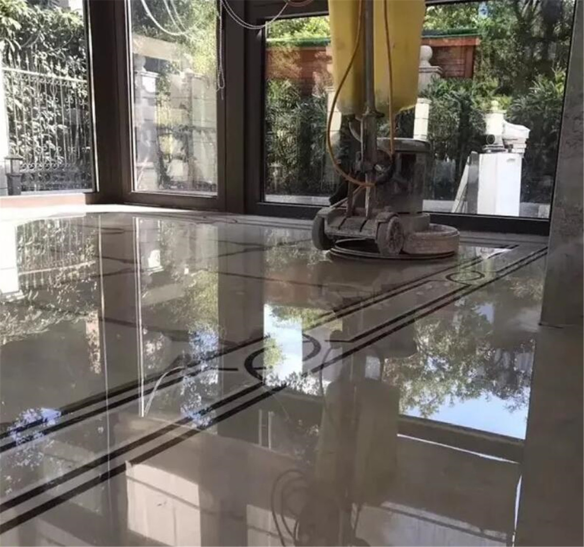 Marble Floor Design And Paving Strategy