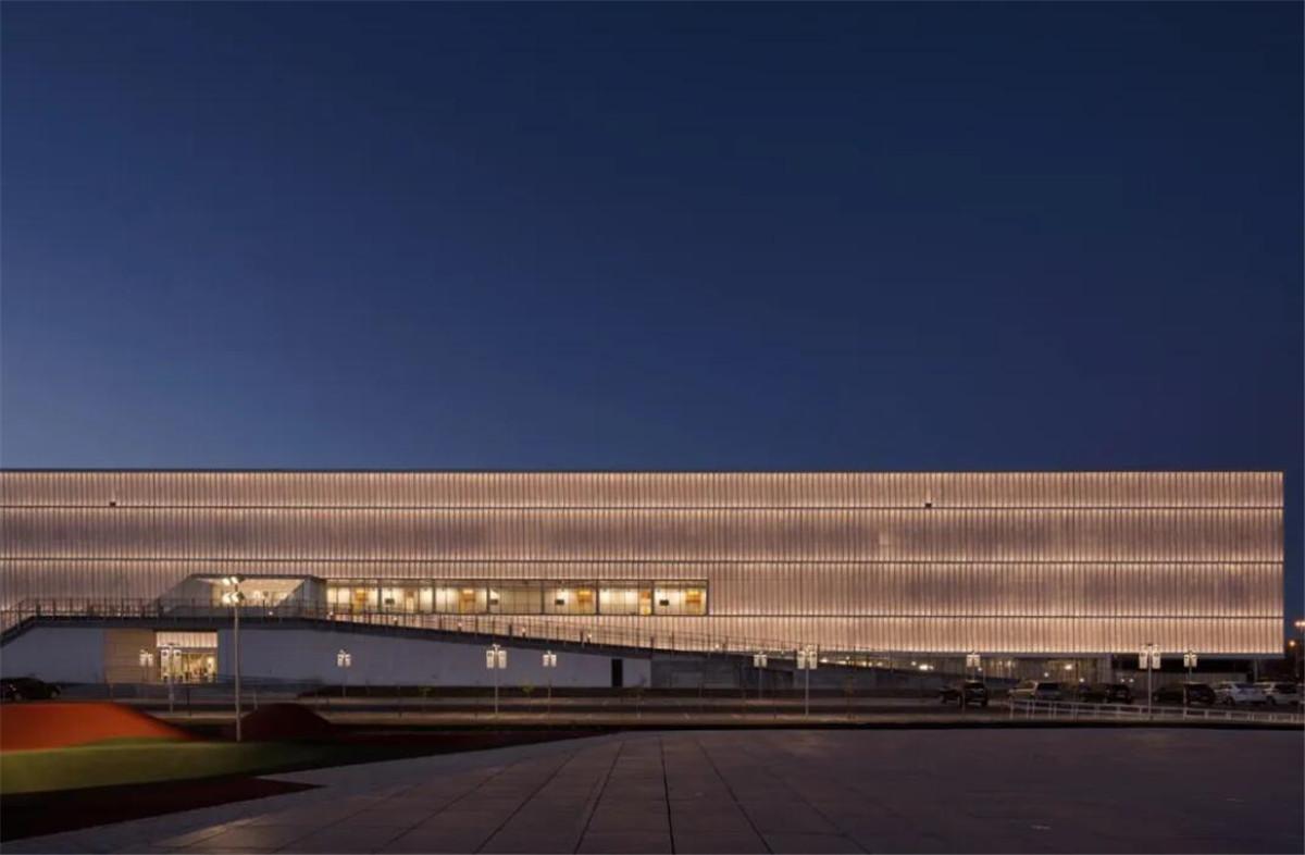 Multi-Functional Stadium Architectural Design